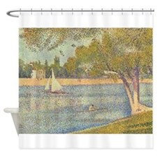 Seurat Shower Curtain 2