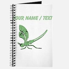 Custom Glass Dragonfly Journal