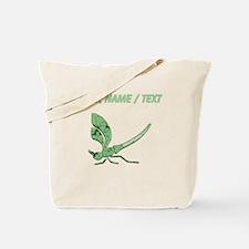 Custom Glass Dragonfly Tote Bag