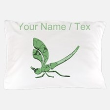 Custom Glass Dragonfly Pillow Case