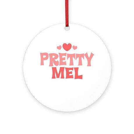 Mel Ornament (Round)