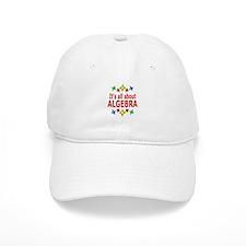 Shiny About Algebra Baseball Cap