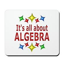 Shiny About Algebra Mousepad