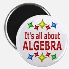 """Shiny About Algebra 2.25"""" Magnet (100 pack)"""