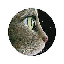 "Cat 413 3.5"" Button"