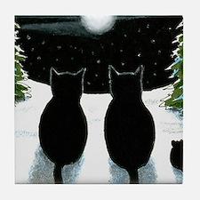 Cat 429 Tile Coaster