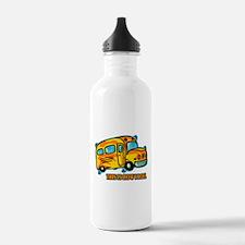 How I Roll School Bus Water Bottle