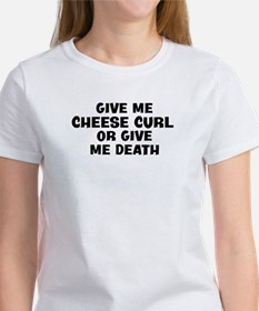Give me Cheese Curl Tee