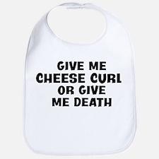 Give me Cheese Curl Bib