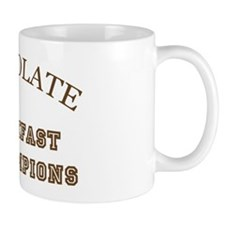 Breakfast Champions Chocolate Mug