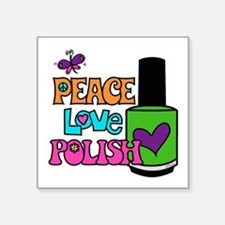 Peace Love Polish Sticker
