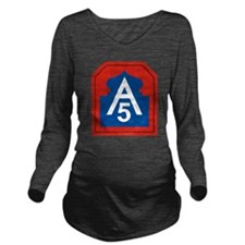 5th Army.png Long Sleeve Maternity T-Shirt