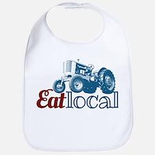 Eat Local Patriotic Bib