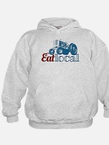 Eat Local Patriotic Hoodie