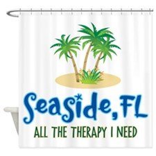 Seaside FL Therapy - Shower Curtain