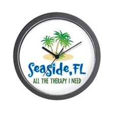Seaside FL Therapy - Wall Clock