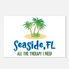 Seaside FL Therapy - Postcards (Package of 8)