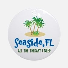Seaside FL Therapy - Ornament (Round)