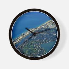Life's a Beach in Miami Wall Clock