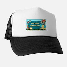 Jungle Cutouts Horizontal Trucker Hat