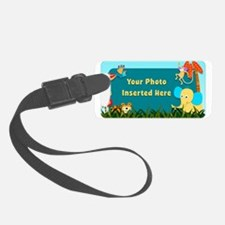 Jungle Cutouts Horizontal Luggage Tag