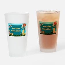 Jungle Cutouts Horizontal Drinking Glass