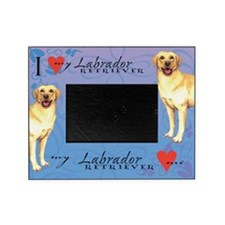 Yellow Lab Picture Frame
