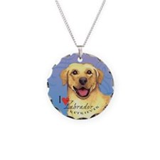 Yellow Lab Necklace