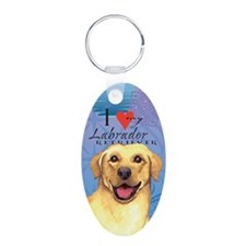 Yellow Lab Keychains