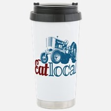 Eat Local Patriotic Travel Mug