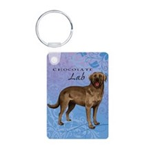 Chocolate Lab Keychains