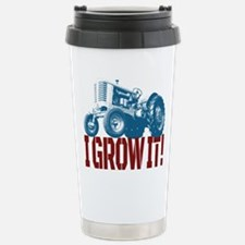 I Grow It Patriotic Travel Mug