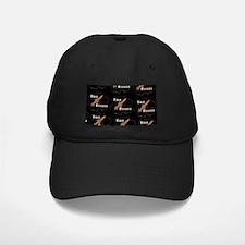 Cool Retro Tiki Rocket Logo Baseball Hat