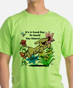 Nosework Good Day To Smell T-Shirt