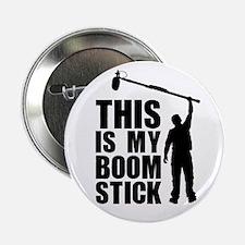 "Boom Stick (black Logo) 2.25"" Button"