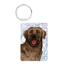 Chocolate Lab Keychains Keychains