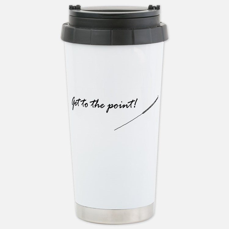 Cute Needle Travel Mug
