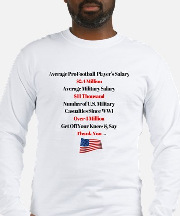 Cute Military and patriotism Long Sleeve T-Shirt