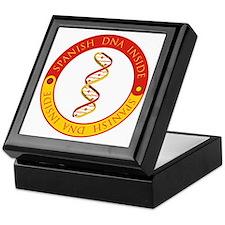 Spanish DNA Keepsake Box