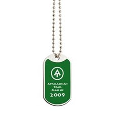 Appalachian Trail Class Of 2009 Dog Tags