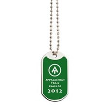 Appalachian Trail Class Of 2012 Dog Tags