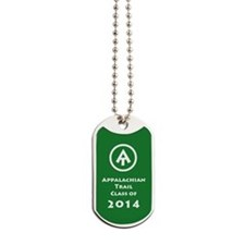 Appalachian Trail Class Of 2014 Dog Tags