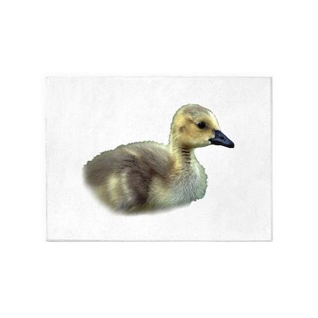 baby goose 5'x7'Area Rug