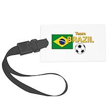 Team Brazil/Brasil - Soccer Luggage Tag