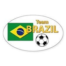 Team Brazil/Brasil - Soccer Decal
