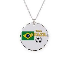Team Brazil/Brasil - Soccer Necklace