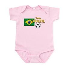 Team Brazil/Brasil - Soccer Infant Bodysuit