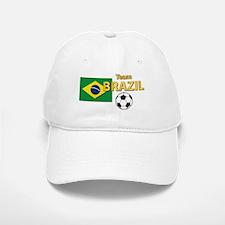 Team Brazil/Brasil - Soccer Baseball Baseball Cap