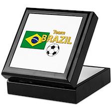 Team Brazil/brasil - Soccer Keepsake Box