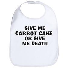 Give me Carrot Cake Bib